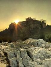 Prière sur l'Acropole