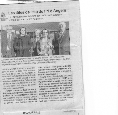 article Ouest France lundi 1er mars 2010.jpg